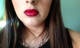 Dark RED Ombre Lip Tutorial