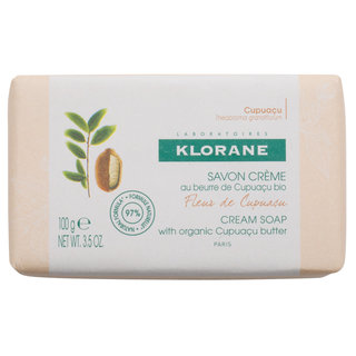 Klorane Cupuaçu Flower Cream Soap with Cupuaçu Butter