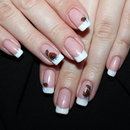 Black Rose French Manicure