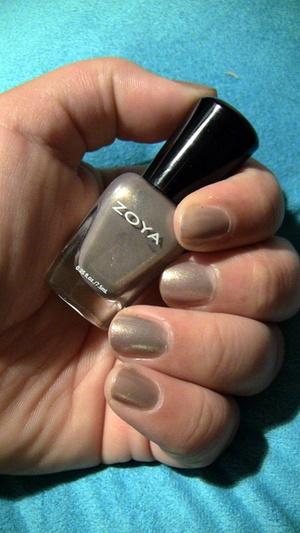 Nails: Zoya Nail Polish in Jules