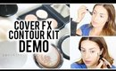 Cover FX Cream Contour Kit Demo | vlogwithkendra