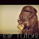 Romantic Hairstyle - 4 Strand Braided Half-Up, Half-Down Updo