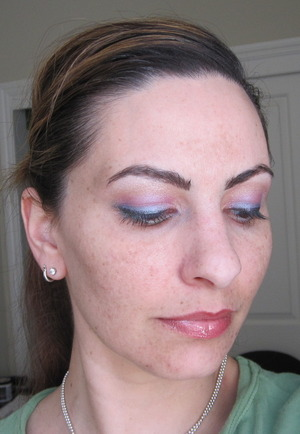 One of the many possibilities from Urban Decay's 15th Anniversary palette.