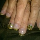 St. Patty's day gel nails