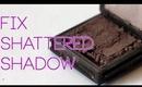 How To Fix Broken Eyeshadow (Tutorial)