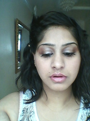 close up of make up