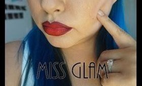 MISS GLAM'S DRUGSTORE PIN UP MAKEUP TUTORIAL