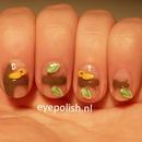 Fimo Birds Nails
