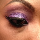 Purple glitter LHH ATL Mimi Faust recreation