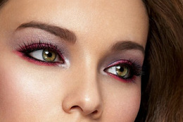 Burgundy Eye Looks