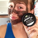 LUSH fresh face mask- cupcake