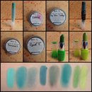 Battle of the Green Lipsticks: Products Used