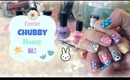 Easter Chubby Bunny Nails