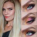 Colorful Smokey Autumn Make Up