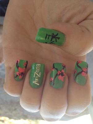Arizona green tea inspired