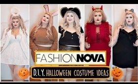 Easy Plus Size Halloween Costume Ideas Feat Fashion Nova Curve