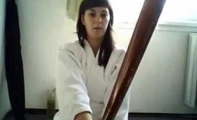Showing you the Aikido Weapons with which I Train