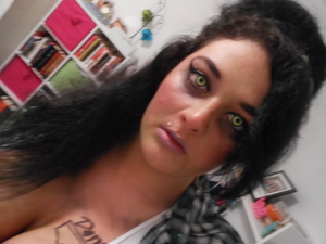 Me as Zombie Amy Winehouse