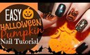 Easy Halloween Nail Tutorial!