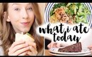 WHAT I ATE TODAY! | Rhiannon Ashlee