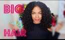 Voluminous BIG Curly Hair Routine | SunKissAlba