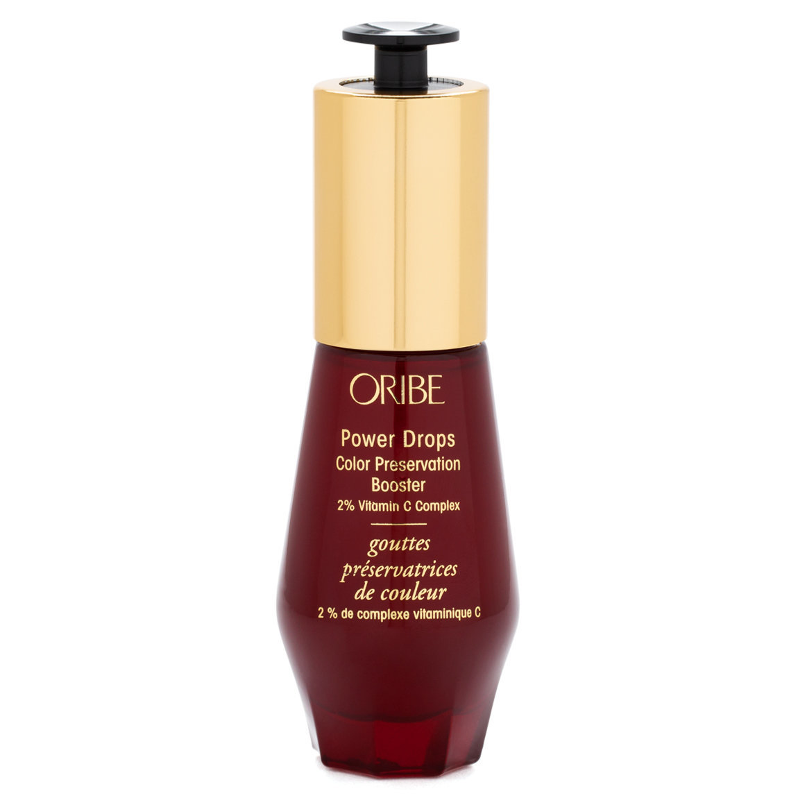 Oribe Power Drops Color Preservation Booster product smear.