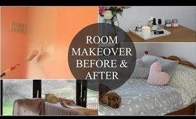 Bedroom Makeover Before & After  MakeupByLaurenMarie