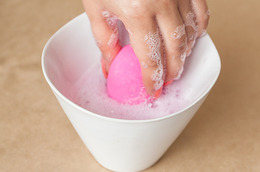 Wash Up! How to Clean Makeup Sponges