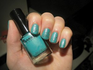 Barielle Do Unto Others, LA Girl Glitter Addict in Explosion, GOSH Matt Effect Top Coat