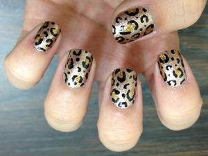 Haven't done a good leopard print in a while.