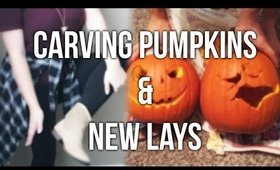 Carving Pumpkins & Trying New Lays Chips!