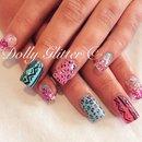 Aztec nails...