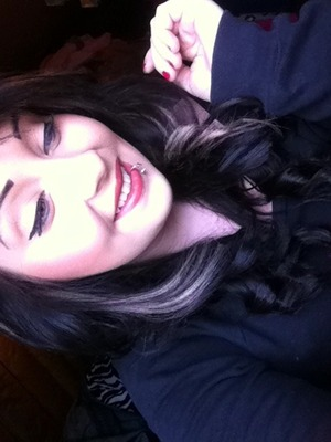 Curled my hair and thought it looks pretty nice :)