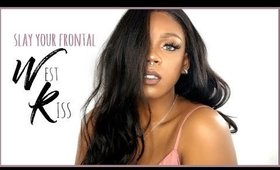 HOW TO MAKE A LACE FRONT WIG ft West Kiss Hair