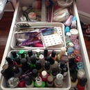 My nailpolish collection Drawer 1 from right side