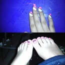 did my Bestfriends nails and toes