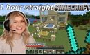 Playing Minecraft for an HOUR straight