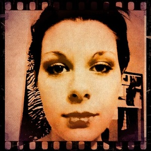 Having fun with make up and vintique! :)
