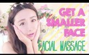 Asian Facial Massage Tutorial - How to use a simple spoon to get a smaller, and firmer face