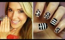 Mix N Match Nails!!! Leopard + Stripes