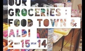 OUR GROCERIES : ALDI & FOOD TOWN