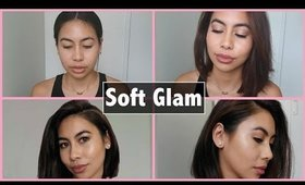 CHIT CHAT GRW ♡ Soft Glam Makeup Look  | Karren Mitzelle