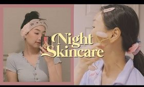 My Night Skincare Routine for Acne-Prone Skin
