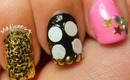 Japanese Party Nails ★☆ Paatii o shimashou Nails! パーティーしよう