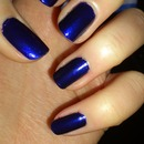Blue Nails :D