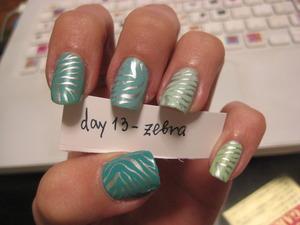 zebra mint :D