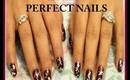 how to apply nail polish perfectly like a pro glitter nails
