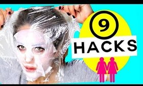 ★  9 LIFE Changing HACKS Every GIRL SHOULD KNOW!  ★  MakeupWearables Hairstyles
