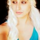 Daenerys Targaryen/Khalessi Halloween Makeup