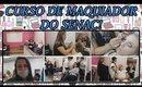 Vlog: Um Dia no Curso de Maquiador do Senac!